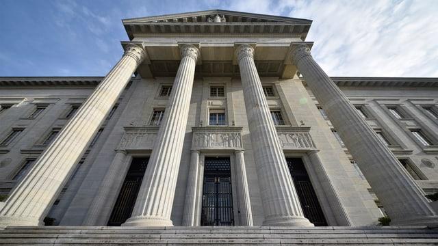Aufnahme des Bundesgerichtes in Lausanne.