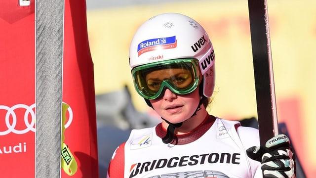 La skiunza svizra Corinne Suter.