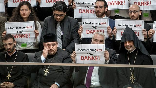 Armenien-Debatte im Bundestag.