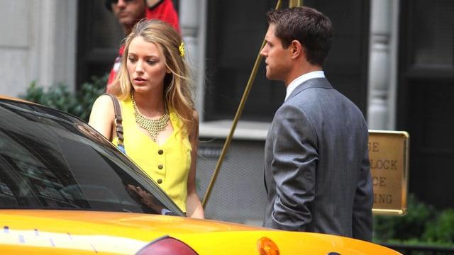 Blake Lively in «Gossip Girl».