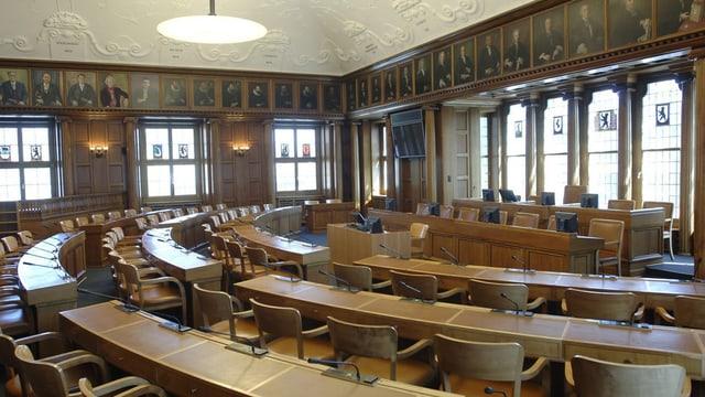 Der Kantonsratsaal Ausserrhoden