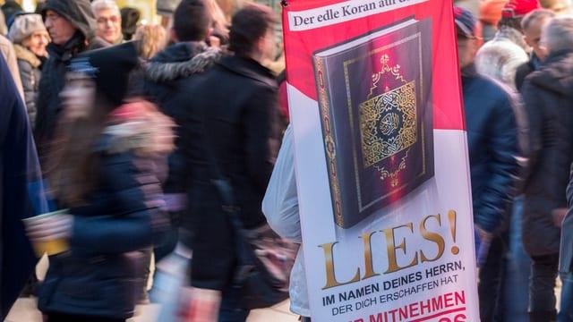 Das Plakat der Kampagne
