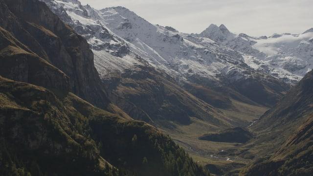 Vista en la Val Curciusa.
