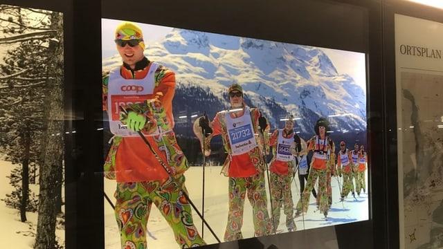 Fotos maraton da skis Engiadina