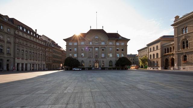 Hauptsitz der Nationalbank in Bern.