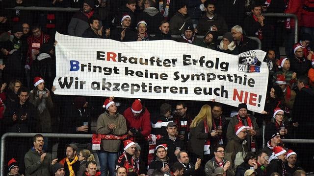 Freiburger Fans.