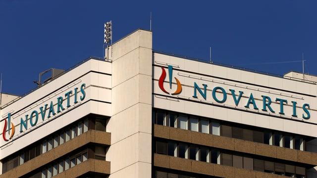 La sedia da Novartis a Basilea.