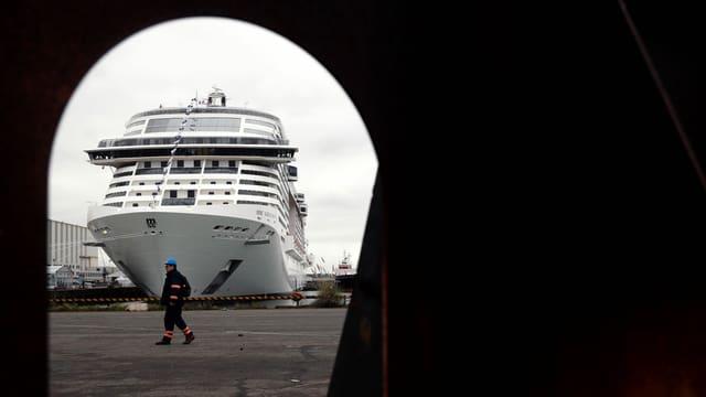 Schiff der MSC