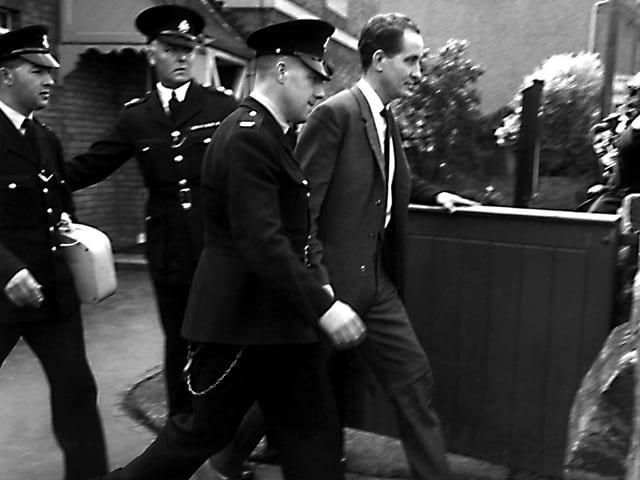 Ronald Biggs bei seiner Verhaftung