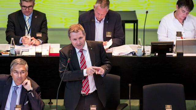 Regierungsrat Marcel Schwerzmann (parteilos)