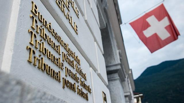 Aussenansicht des Bundesstrafgerichts in Bellinzona