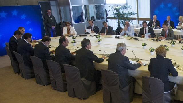 Ils discurs dals presidents da la zona dal euro cuntinueschan.