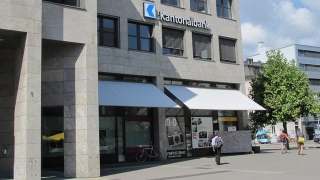 Der Hauptsitz der Aargauischen Kantonalbank AKB in Aarau.