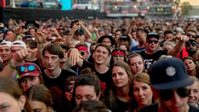Das Festival Frauenfeld war mit 180'000 Besucherinnen und Besuchern restlos ausverkauft.
