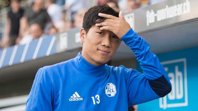 Jong Il-Gwan als Ersatzspieler