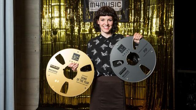 Die Gewinnerin in der Kategorie «Pop & Demo of the Year»: Meimuna
