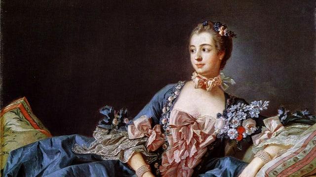 Porträt der Madame de Pompadour