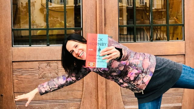 Annette König hält den Roman «Keiner hat gesagt, dass du ausziehen sollst» von Nick Hornby weit von sich. Und hat Mühe dabei die Balance zu halten.