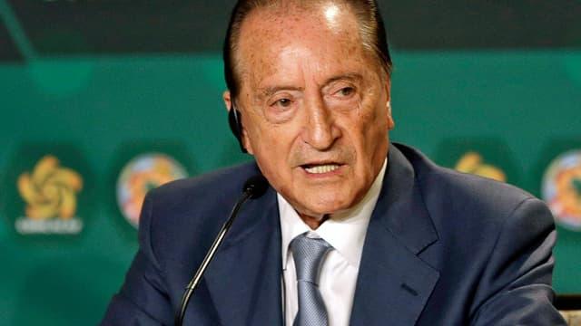 Figueredo bei Medienkonferenz