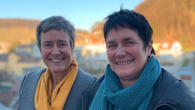 Amanda Sager-Lenherr und Claudia Hauser