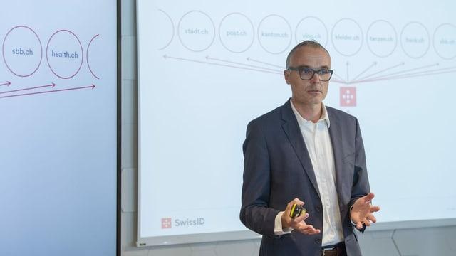 Markus Naef, CEO der SwissSignGroup