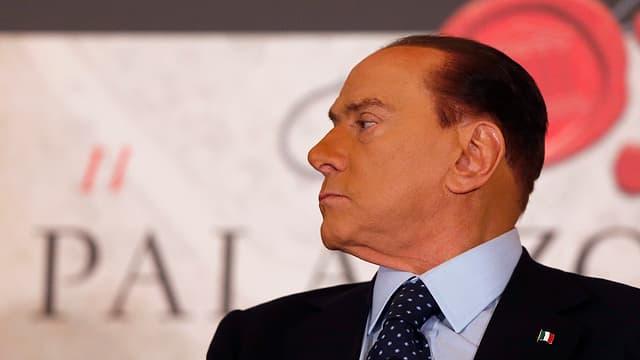 Porträt von Silvio Berlusconi