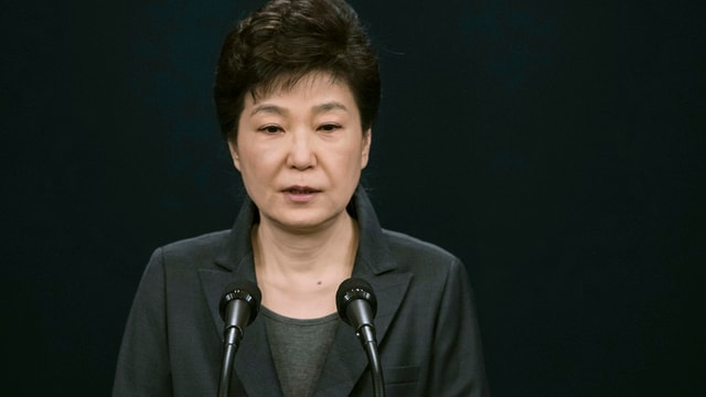 Nur noch bei den wenigsten beliebt: Südkoreas Präsidentin Park Geun Hye.