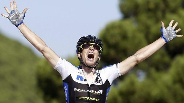 Der Tscheche Leopold König hat die 8. Etappe der Vuelta gewonnen.