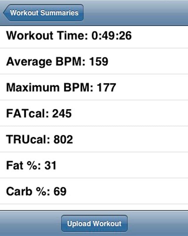 Diese Smartphone-App erfasst nicht nur die Dauer des Freizeitsports, sondern auch Kalorien-Bilanzen und Herzschläge.