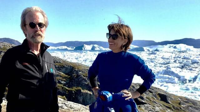 Steffen mit Doris Leuthard.