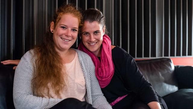 Sidonia Caviezel e Nina Mayer.