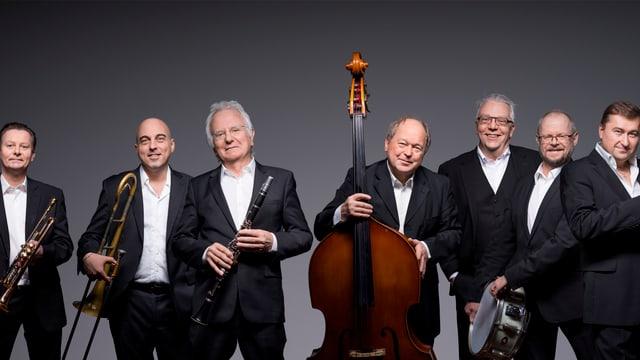 Allotria Jazz Band aus München.