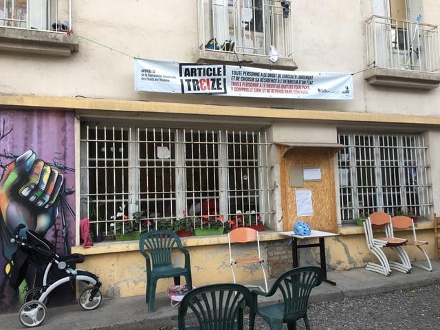 Das Refuge Solidaire in der südostfranzösischen Grenzstadt Briançon.
