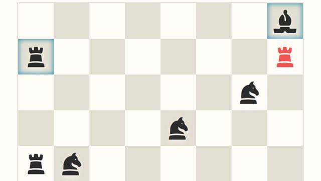 "Screenshot des Games ""No More Kings"", ein Schachbrett."