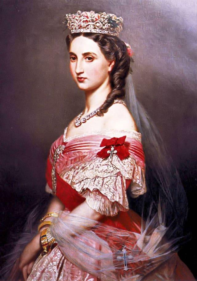 Porträt von Charlotte.