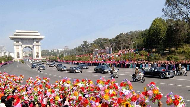 Chinesisches Staatsbesuch in Pjöngjang (2009)