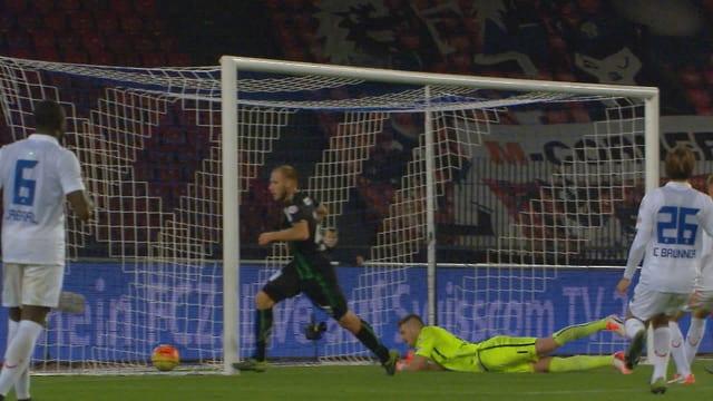 Cavusevic rettet St. Gallen einen Punkt.