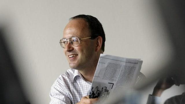 Robert Unteregger, Geschäftsführer der Stiftung Zukunfssrat, hält die Zeit für Veränderung für günstig.