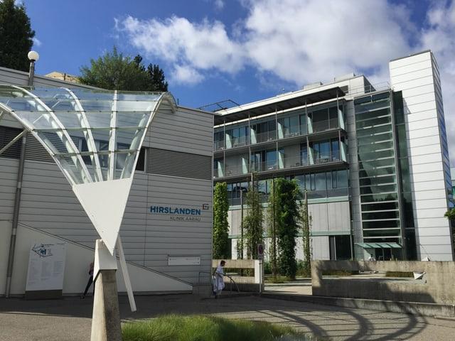 Hirslanden-Klinik  mit Haus B.