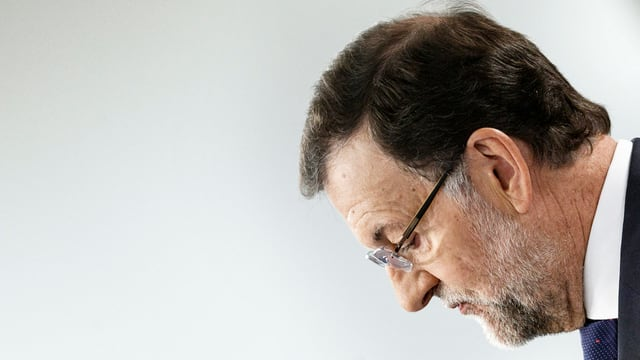 Purtret da Mariano Rajoy, primminister spagnol.