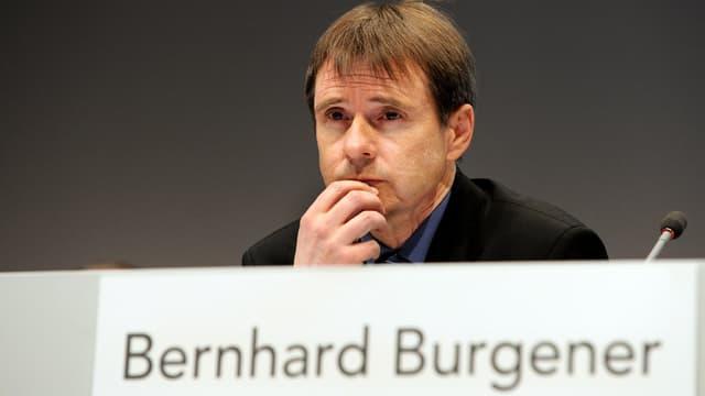 Portraitaufnahme von Bernahrd Burgener