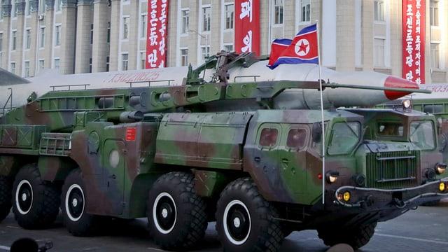 In tanc armà da la Corea dal Nord.