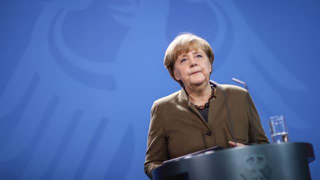Bundeskanzlerin Angela Merkel in Berlin.