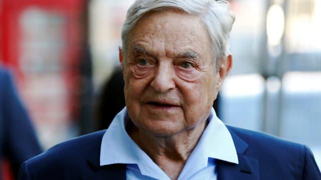 Ein Bild von George Soros von 2016.