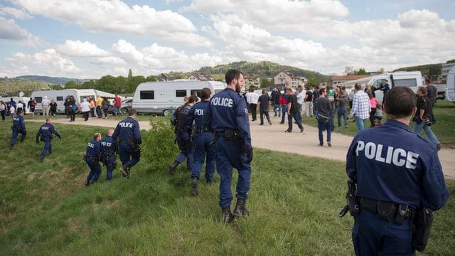 Berner Kantonspolizei, Wohnwagen von Jenischen