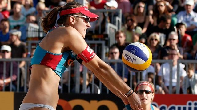 Nach ihrem Schweizermeistertitel von 2013 wollen Goricanec/Hüberli auch international überzeugen.
