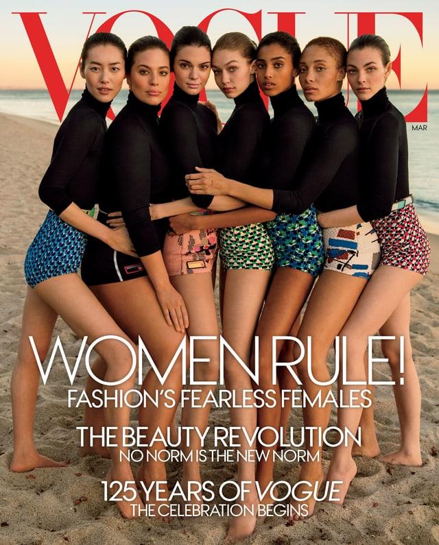 Vogue Cover März 2017