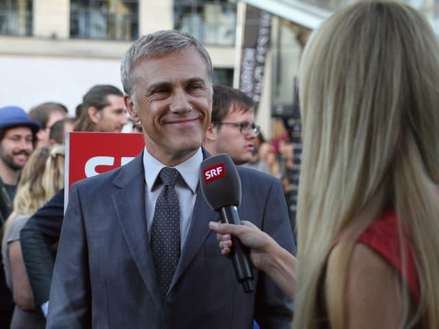 Christoph Waltz, zweifacher Oscar-Preisträger und neuer James-Bond-Bösewicht, im Interview mit «Glanz & Gloria».