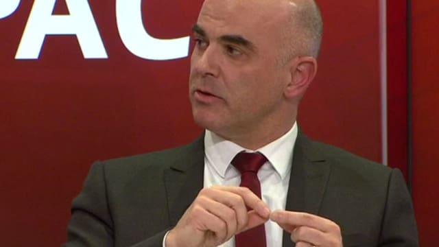 Bundespräsident Alain Berset