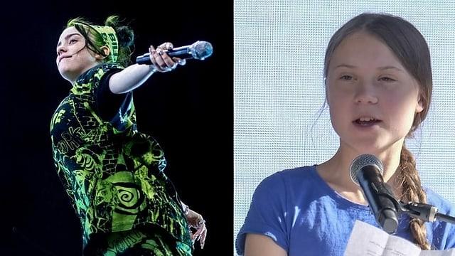 Billie Eilish wurde von Greta Thunberg inspiriert und fordert mehr Nachhaltigkeit.